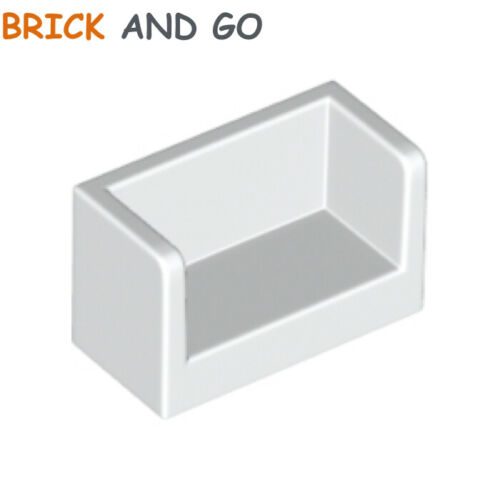 blanc white Panel 1x2x1 Rounded Corners NEUF NEW 4 x LEGO 23969 Mur Panneau
