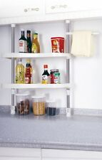 Under Shelf Kitchen Storage Rack Caddy Organiser Spic Jar Bar Household Stand
