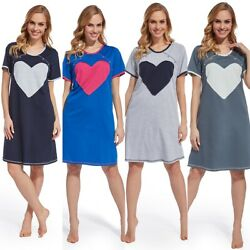 2in1 Stillnachthemd Umstandsnachthemd Nachthemd Umstandsmode Herz