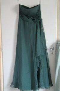 Long Ceremony London 38 Sexyher T Petrol Dress Nuovo Green wvx7O
