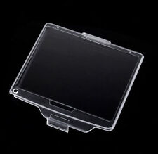 BM-8 Hard Clear Plastic LCD Monitor Screen Cover Protector For Nikon D300 - UK