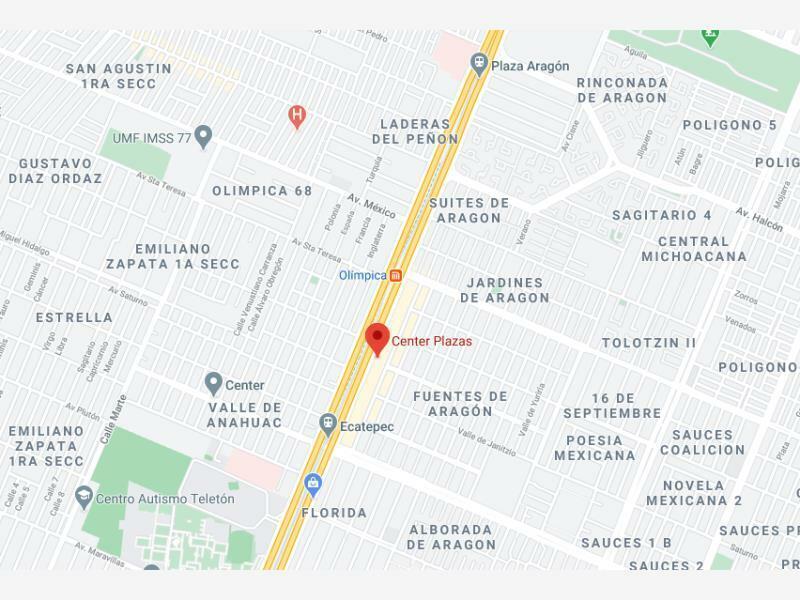 RR LOCAL COMERCIAL CENTER PLAZA COL VALLE DE ANAHUC