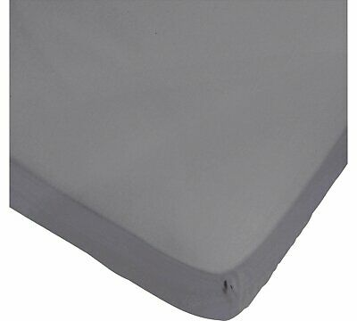 Pure Cotton Jersey Fitted Sheets Pram//Moses//Crib White