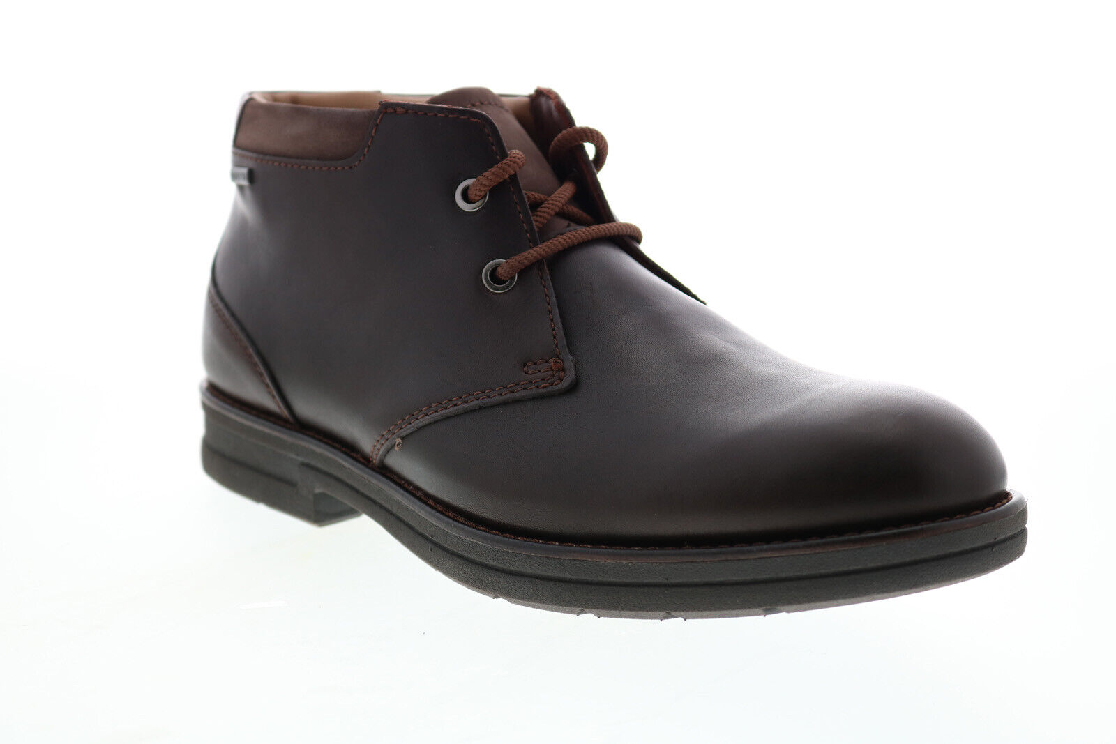 Clarks Banning Hi GTX 2615190 Mens Brown Leather Lace UP Chukkas Boots