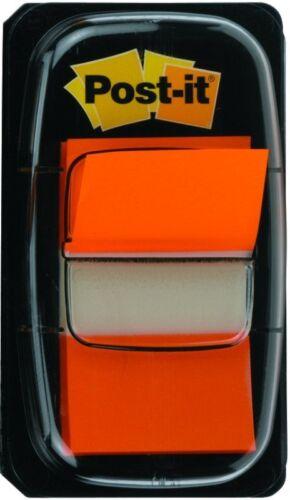 680-4 Post-it Orange Index Tabs 25mm Pack of 12x50