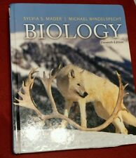 Biology by Sylvia Mader and Michael Windelspecht Eleventh Edition Used Text Book