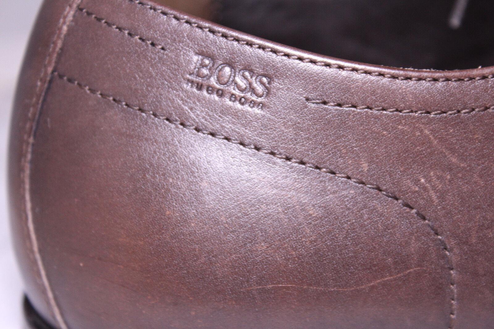 Hugo Boss Boss Boss Men braun Laced Romes Vero Cuoio Leather Oxford Dress schuhe Sz 12  245 fe2614