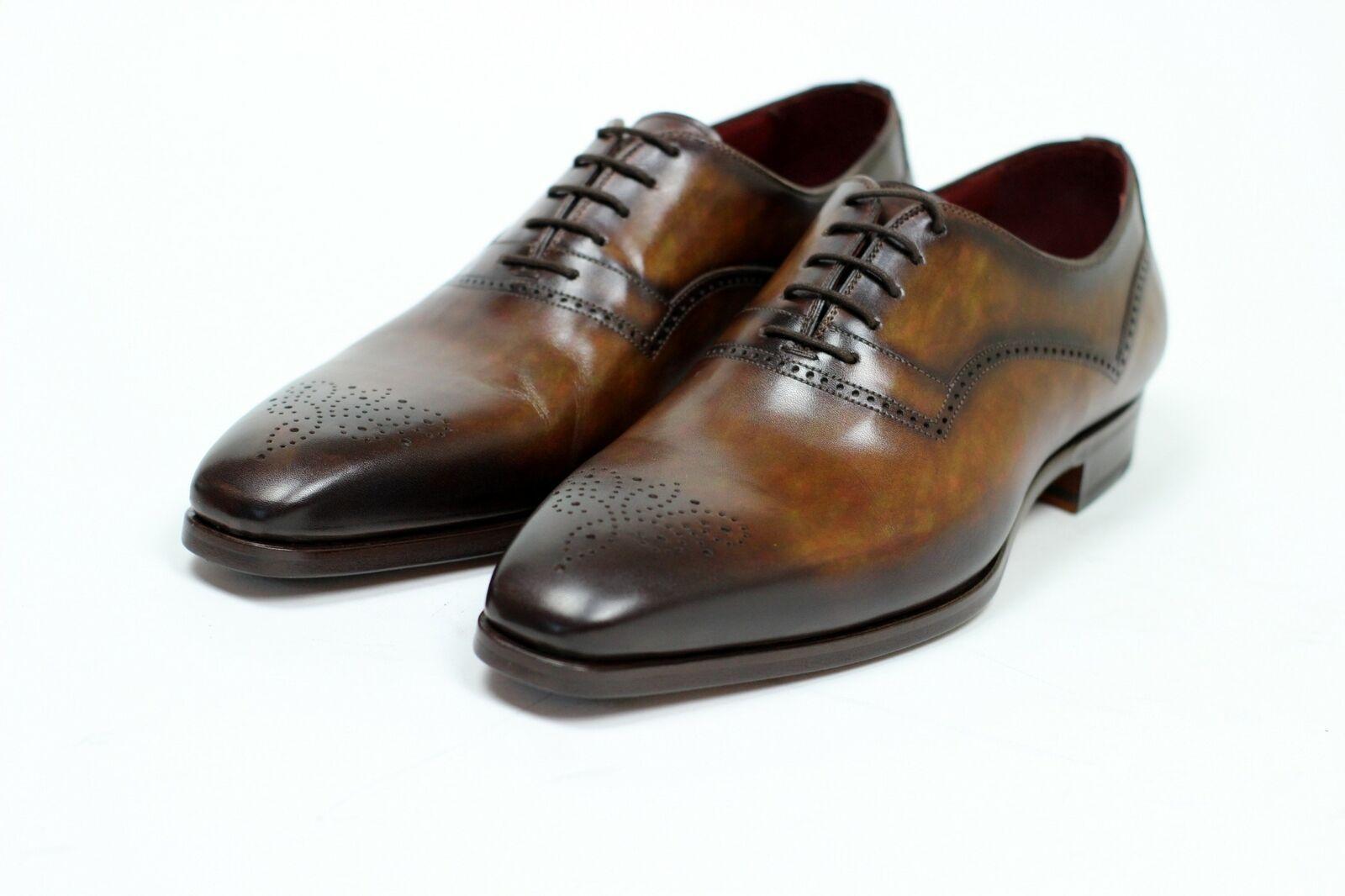 BRAND NEW - Magnanni marrón Whole Cut Cut Cut Zapatos de vestir -10.5D -MSRP  545  Mercancía de alta calidad y servicio conveniente y honesto.