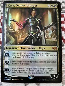 1x KAYA, ORZHOV USURPER *PROMO FOIL* MTG RNA MT/NM COMMANDER PIONEER EDH