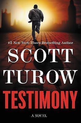 Testimony By Scott Turow 2017, Hardcover  - $1.00