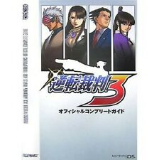 Ace Attorney Trials and Tribulations Gyakuten Saiban 3 Complete Guide Book GBA