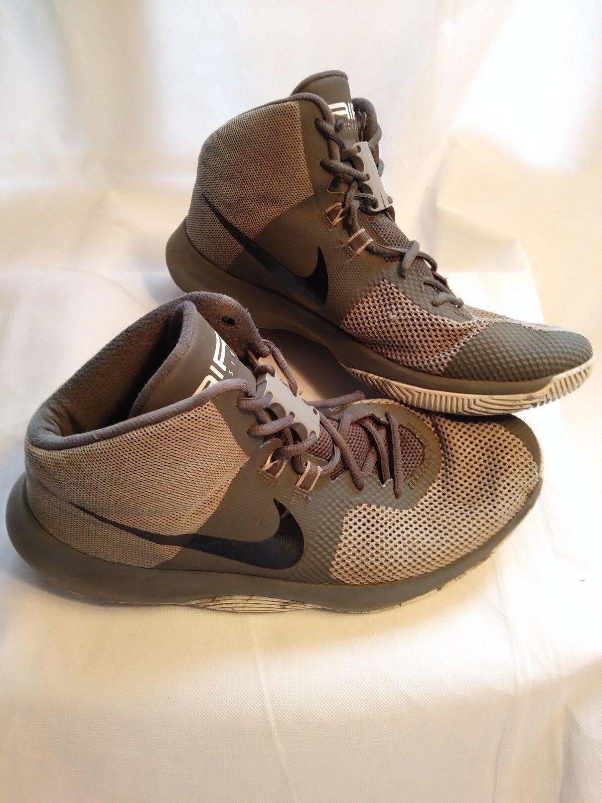 e8ef3fb9970 Nike Air Precision Mens Basketball Shoes Size 11 Gray W Zubits ...