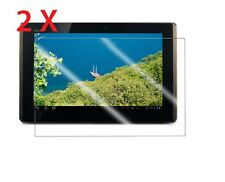 """2 x ASUS Eee Pad Transformer TF101 10.1"""" Tablet Clear Screen Protectors [2-Pack]"""