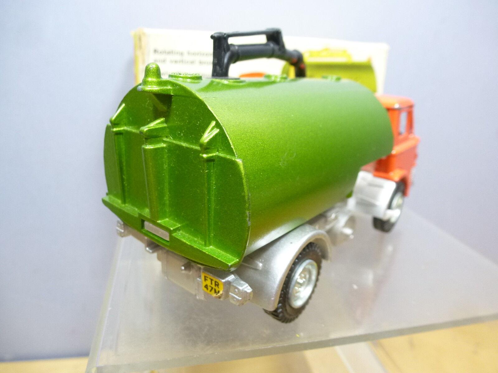 VINTAGE Dinky Toys modello No.451    Johnston ROAD Sweeper   1st Versione  VN Nuovo di zecca con scatola 3c2058