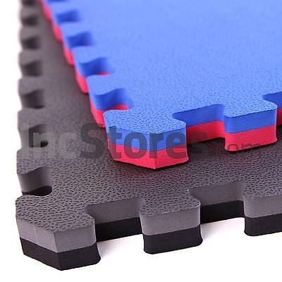 IncStores MMA Foam Gym Tiles Wrestling & Exercise Mats (10 Tile Pack)