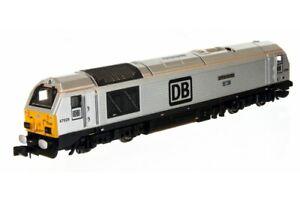 Dapol 2D-010-011 N Gauge Class 67 67029 'Royal Diamond' DB Schenker Silver