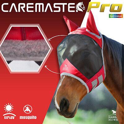 Harrison Howard horse Fly Mask Hood full face No Ears padded Anti-UV Free PP