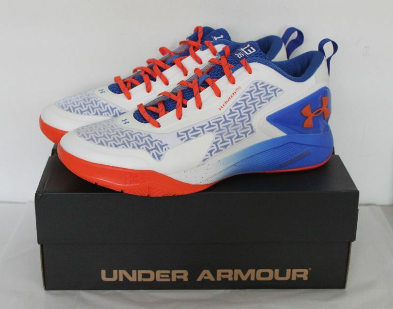 UNDER ARMOUR SIZE TB DRIVE LOW 2 SIZE ARMOUR 13 WEISS/ROYAL Blau/ORANGE be49d8