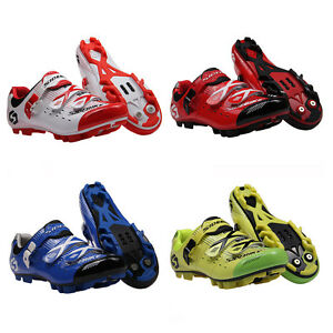 MTB-Bike-Shoes-Professional-Sports-Cycle-Road-Cycling-Lock-Shoes-SPD-SL-Bicycle