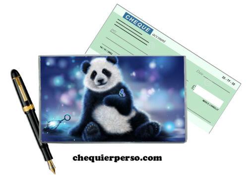 panda 01-008 protège porte chéquier format portefeuille