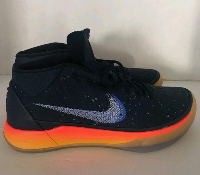 best authentic 6cd96 fc926 Nike Men's Kobe Bryant A.D. AD 922482 401 Blue Orange Mid Obsidian Size 10.5