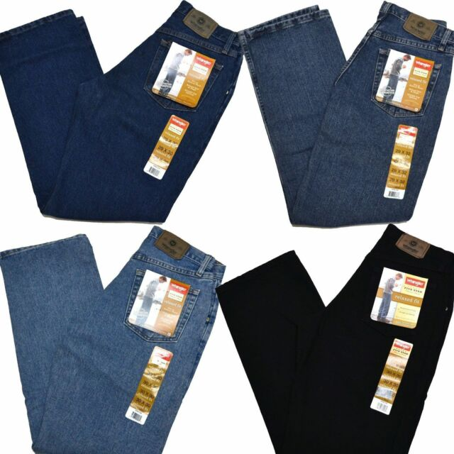 Wrangler Jeans Mens  Relaxed Fit Big & Tall Five Star Premium Denim 5 97601 New