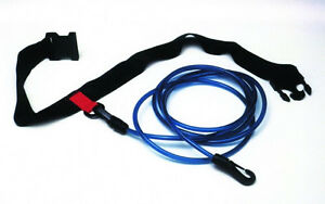 Details about Water Gear Swimmer's Leash Stationary Cords Swim Pool Hip  Belt Training 68500
