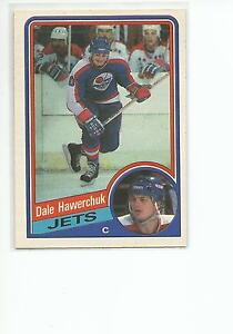 DALE-HAWERCHUK-1984-85-OPC-O-Pee-Chee-Hockey-card-339-Winnipeg-Jets-NR-MT