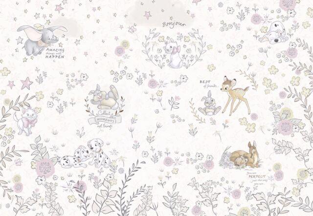 Meilleur De Amis Disney Bambi Dalmatiens Photo Papier-Peint 368x254cm