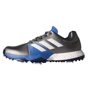best service f88b6 ae53a Image is loading NEW-MENS-ADIDAS-ADIPOWER-BOOST-3-GREY-GOLF-