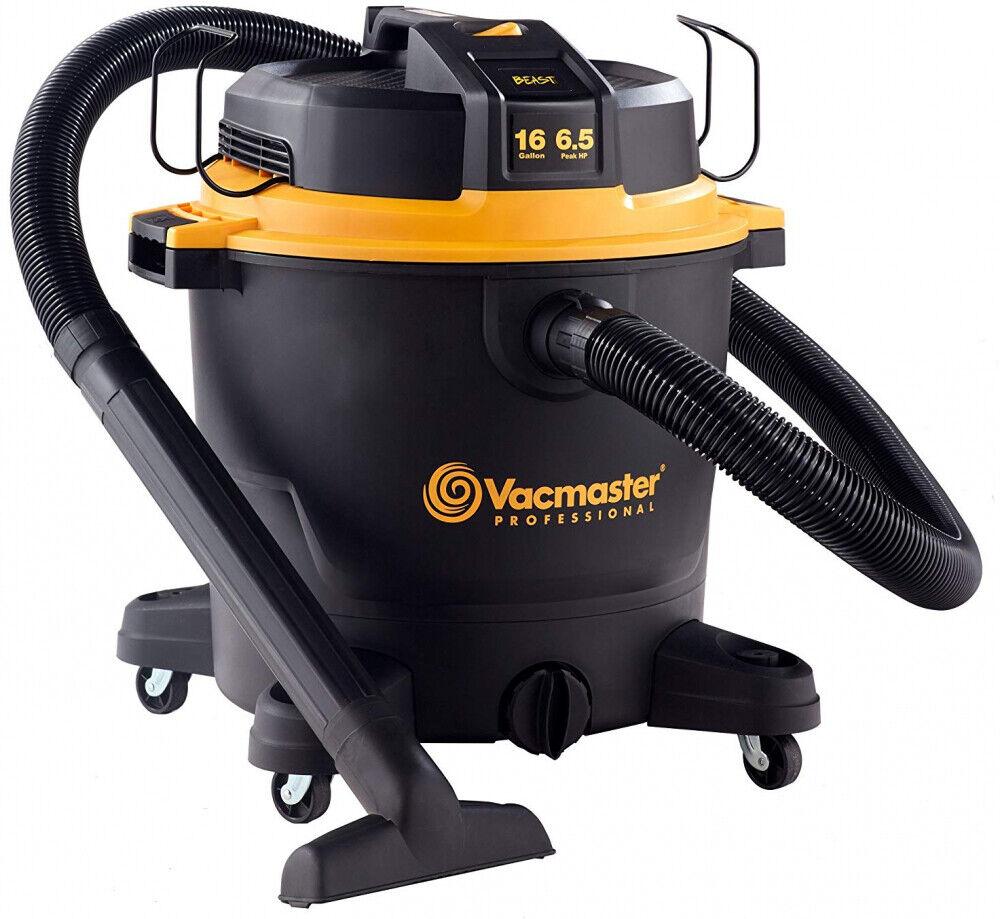Vacmaster Professional - Professional Wet Dry Vac, 16 Gallon, Beast Series, 6.5