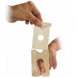 Finger Penetration Frame Magic Trick Illusion Wooden Finger Chopper Close Up