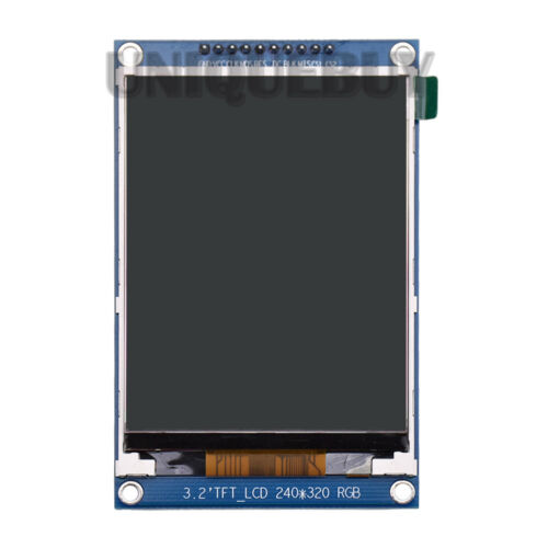 SPI serial module with font ILI9341 3.2inch TFT LCD