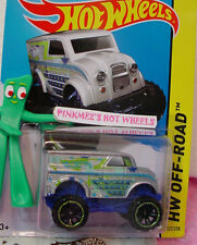 2014 Hot Wheels MONSTER DAIRY DELIVERY #122✿Silver;Green/Blue✿HW Daredevils