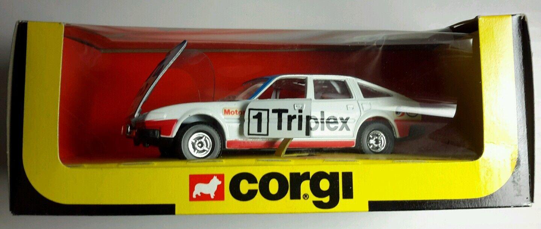 Nouveau vintage CORGI 340 Rover TRIPLEX 3.5