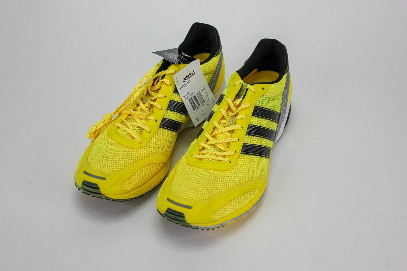 Adidas Adizero Adios 1 Haile Men's Sneakers Running Shoes Neon Yellow Size 12.5