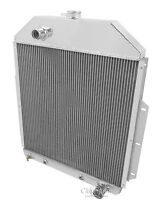48 49 Ford F1 Pickup Truck W/chevy V8 Champion 3 Row Wr Radiator Cc4252ch