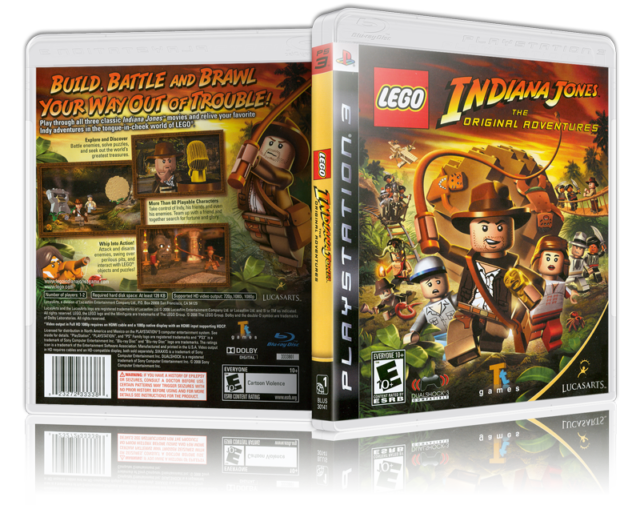 Lego Indiana Jones The Original Adventures PlayStation 3 Game Ps3