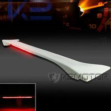 For 06-11 Civic 4Dr Sedan Factory Style ABS Trunk Spoiler Wing+LED Brake Light