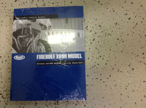 2003 BUELL FIREBOLT FIRE BOLT XB9R MODEL Service Shop Workshop Repair Manual