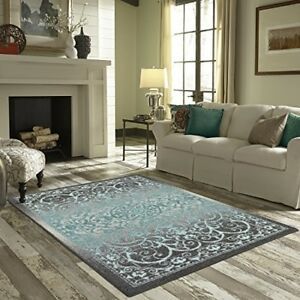 Details About Area Rug 5 X 7 Carpet Modern Cozy Soft Rugs Home Living Room