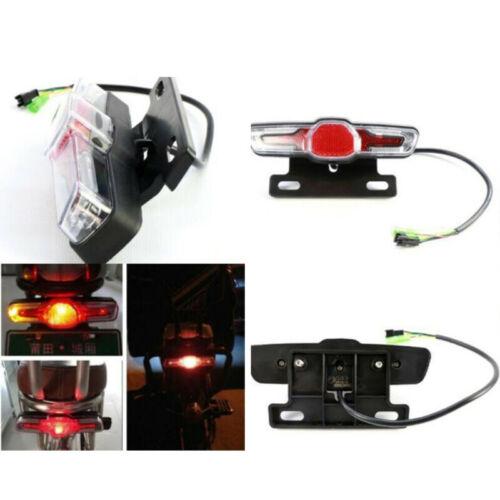 60V LED Bike Tail Light LED Rear Lamp Electric Bicycle Tail Light Night Warning