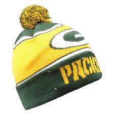 13e73d30a Green Bay Packers Big Logo Light Up Beanie Winter Hat Toque Cuffed Pom 2018  Knit