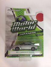 GREENLIGHT Motor World 2011 Nissan GTR GT-R (R-35) Japanese Edition - Series 16