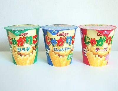 Calbee JAGARIKO Four Flavors Potato Snacks New Japanese Candy Snack Jagarico