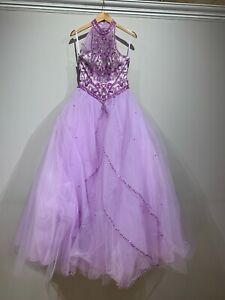 quinceanera dress purple