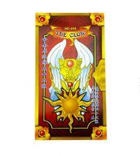 1Set Cosplay Card Captor Sakura Yellow Clow with 56 Tarot Playing Cards
