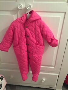 fd54dd5ce596 ralph lauren snowsuit baby girl