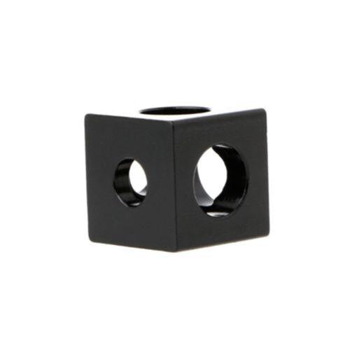 Adjustable V-Slot Cube Corner Prism Connector Wheel Bracket For 3D Printer Parts