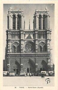 Paris-Notre-Dame-Facade